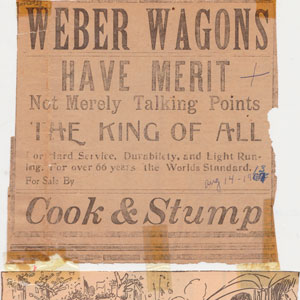 Weber Wagons Cook and Stump